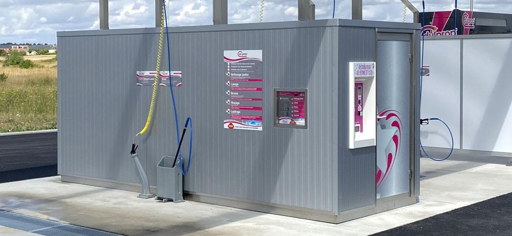 Local technique d 39 une station de lavage starwash for Local technique electrique