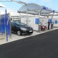 Centre de lavage 2 pistes couverture inox + 1 piste utilitaire + 1 piste poids lourd et PowerJet